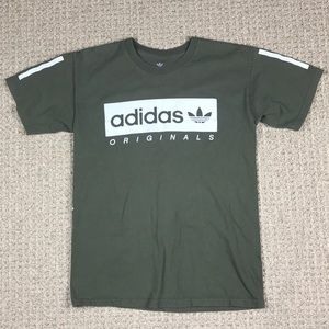 Adidas originals japanese lettering size small